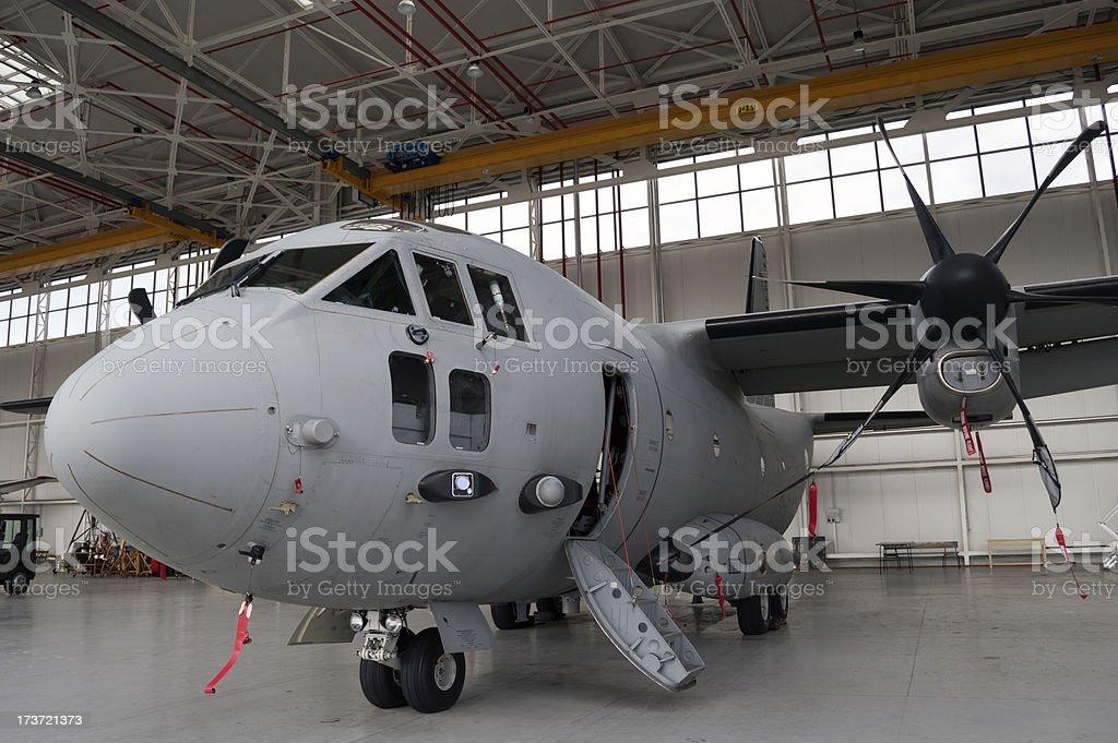transport airplane royalty-free stock photo