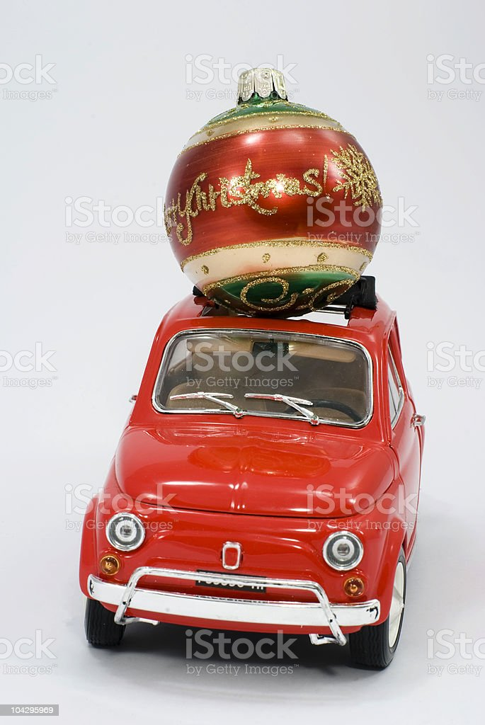 transport Christmas Ornament royalty-free stock photo