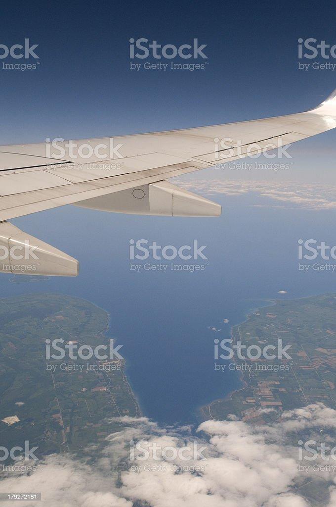 Transport Plane royalty-free stock photo