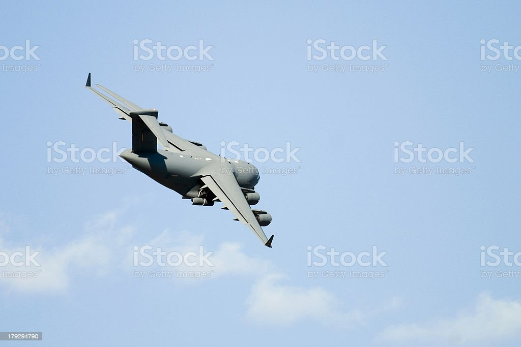 Transport Plane stock photo
