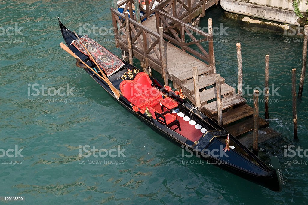 transportsystem in Venezia royalty-free stock photo