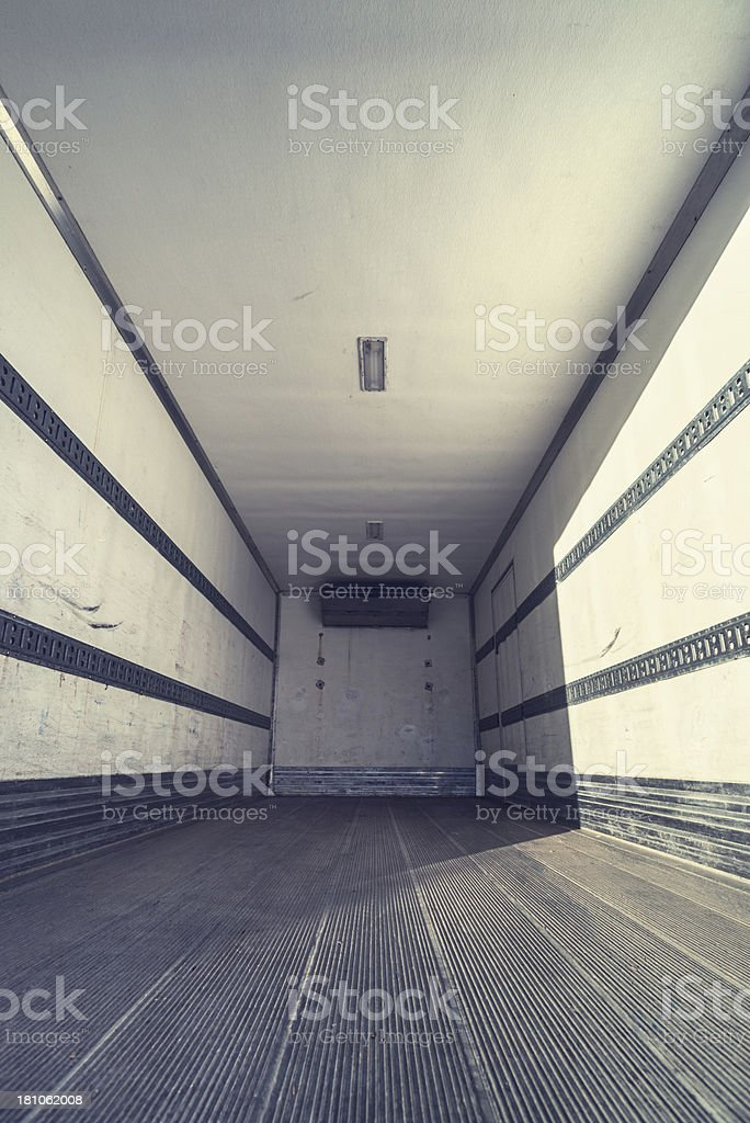 Transport Trailer royalty-free stock photo