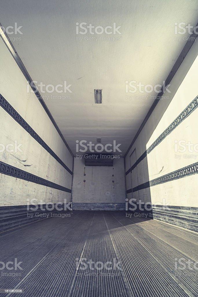 Transport Trailer stock photo