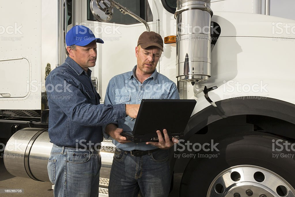 Transportation and Computer royalty-free stock photo