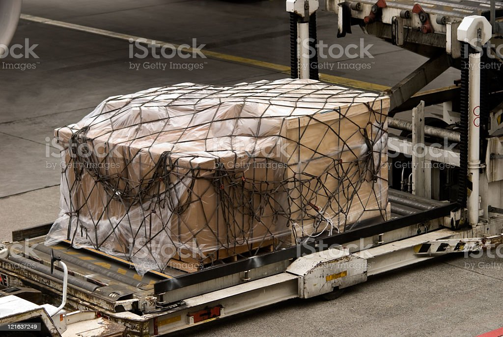 Transportation by air royalty-free stock photo