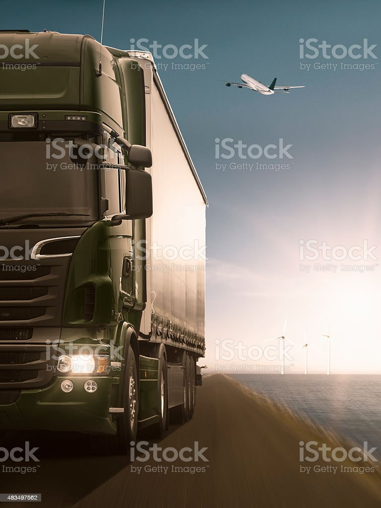 Transportation by Road stock photo