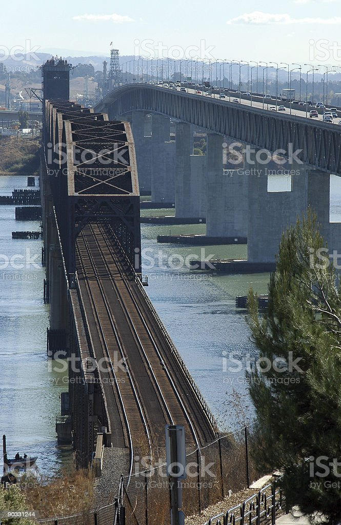transportation corridor royalty-free stock photo