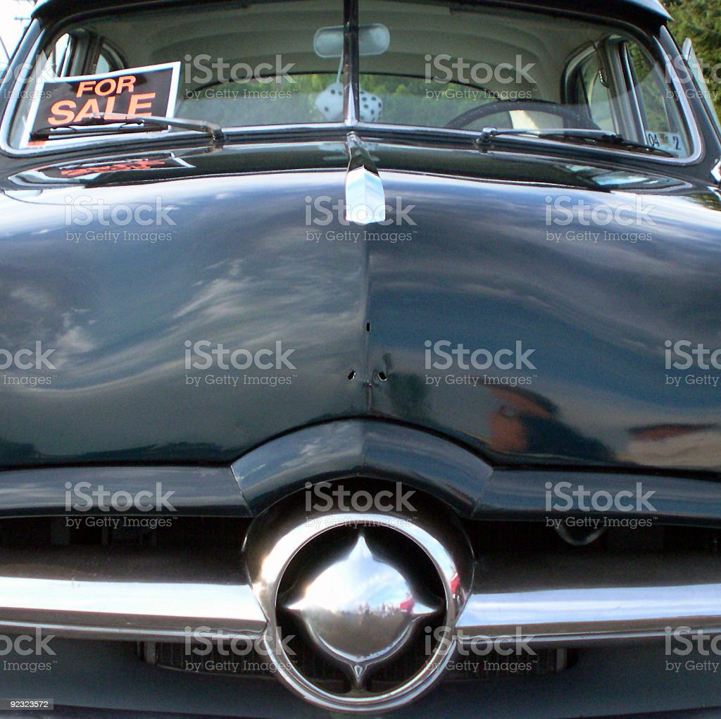 Transportation - hot rod for sale royalty-free stock photo