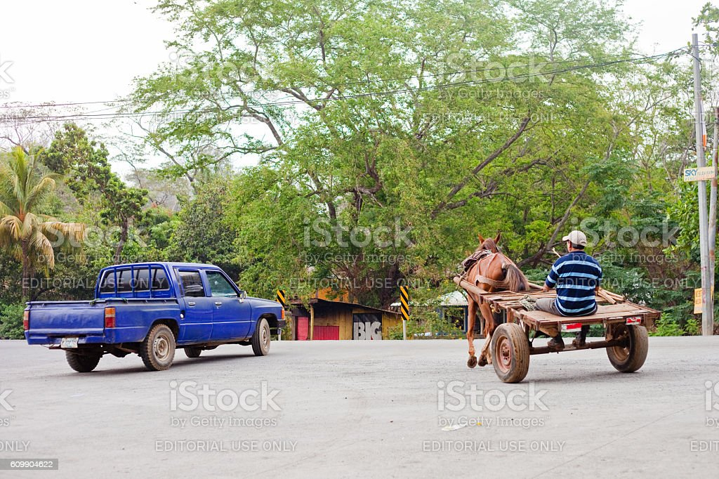Transportation in Nicaragua stock photo