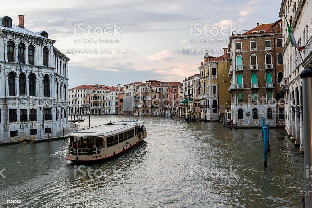 Transportation in Venice, Italy royalty-free stock photo