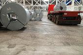 Transportation of sheet steel