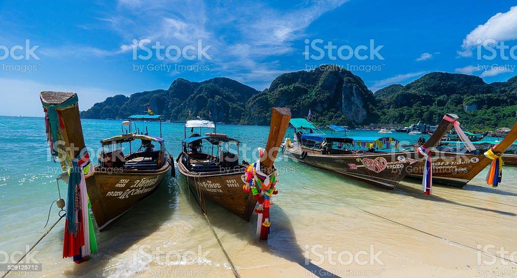 Transportation of Thailand's Islands stock photo