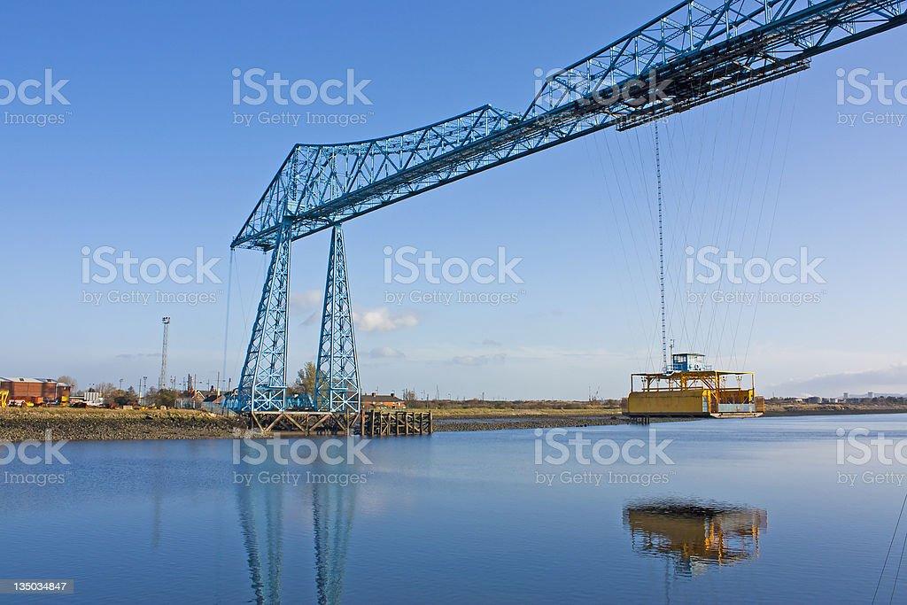 Transporter Bridge Middlesborough stock photo