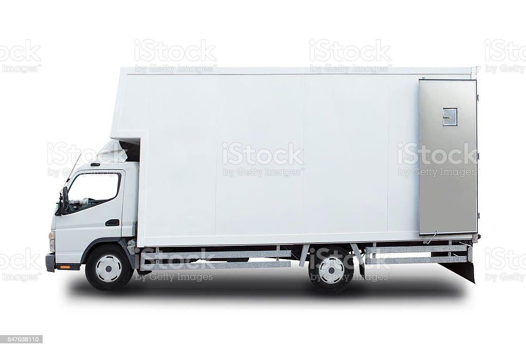 Transporter For Branding Isolated On White stock photo