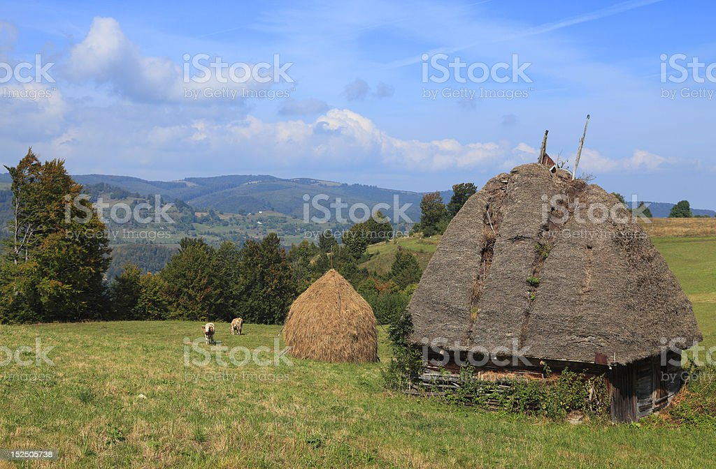 Transylvanian Landscape royalty-free stock photo