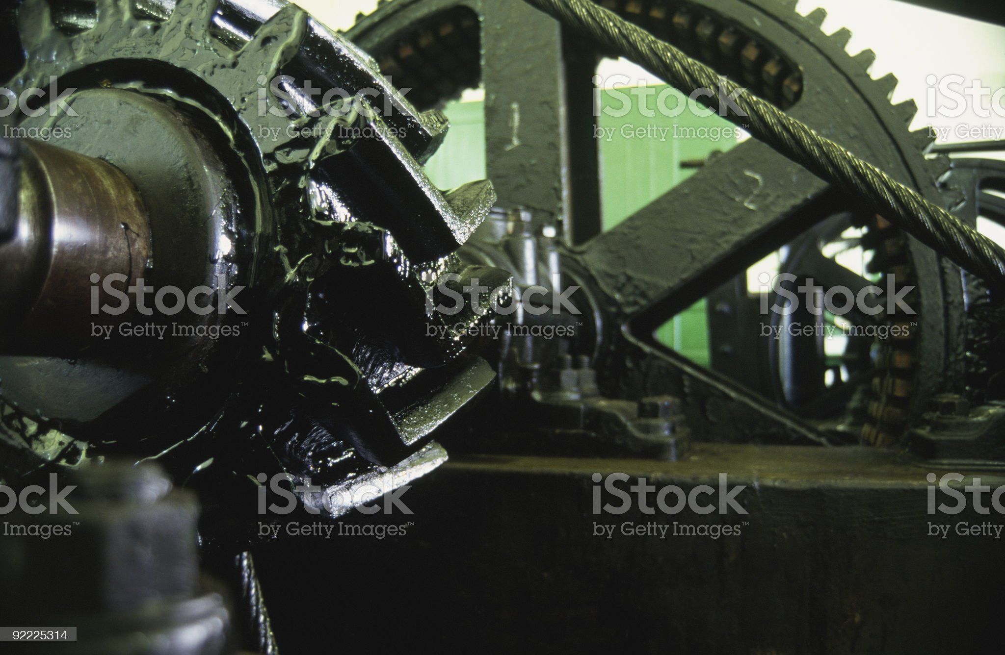 Tranway Mechanism royalty-free stock photo