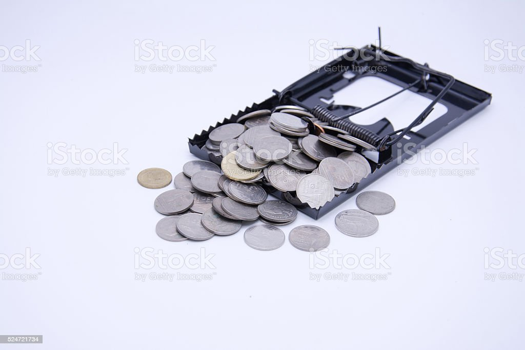 Trap Business Financing stock photo