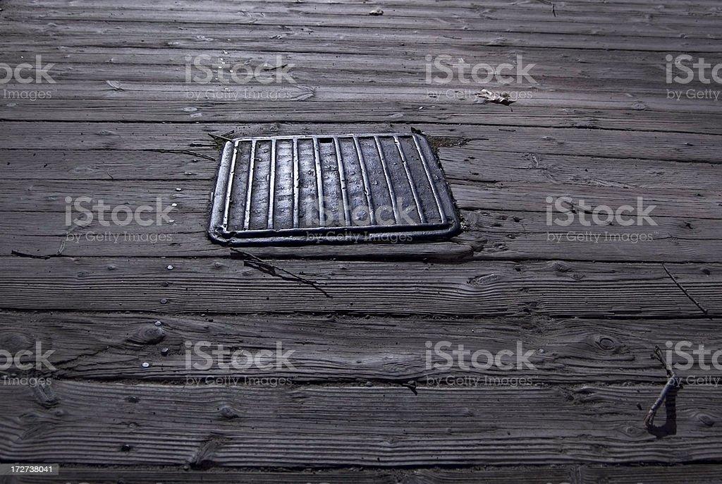 Trap Door stock photo