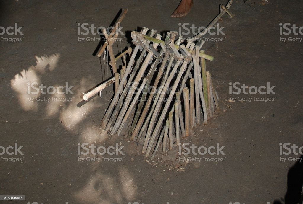 Trap used in Hunting royalty-free stock photo