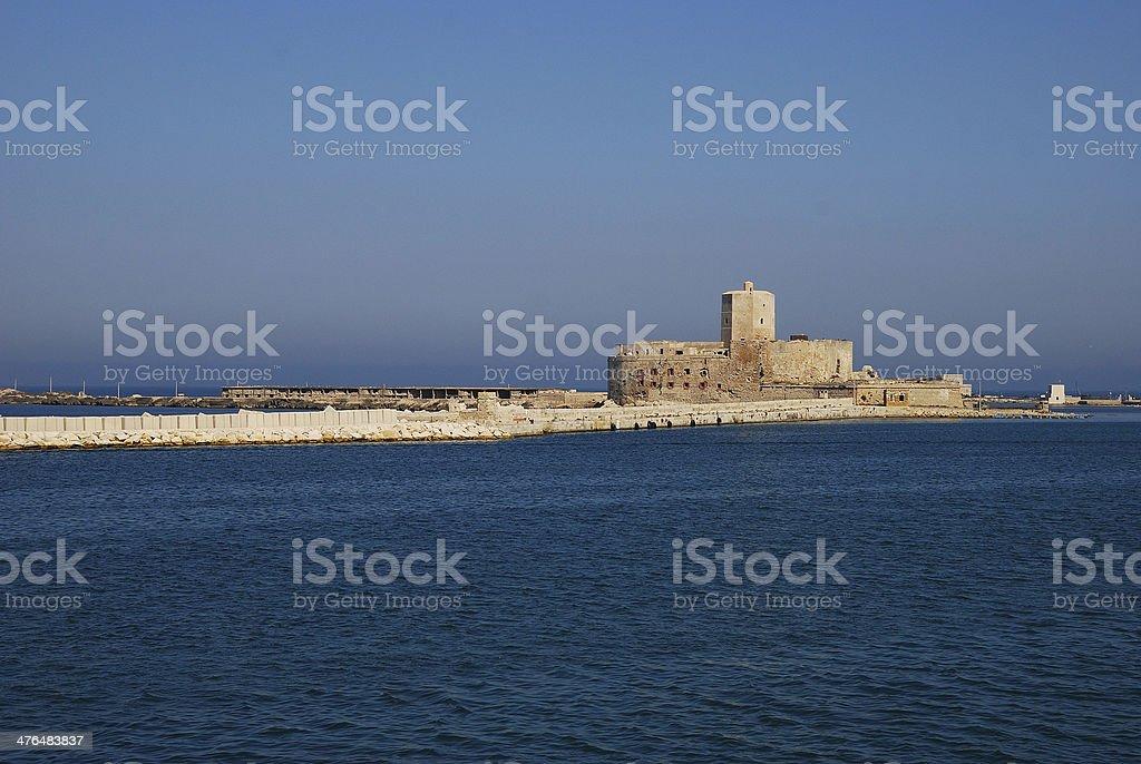 Trapani (Sicily) stock photo