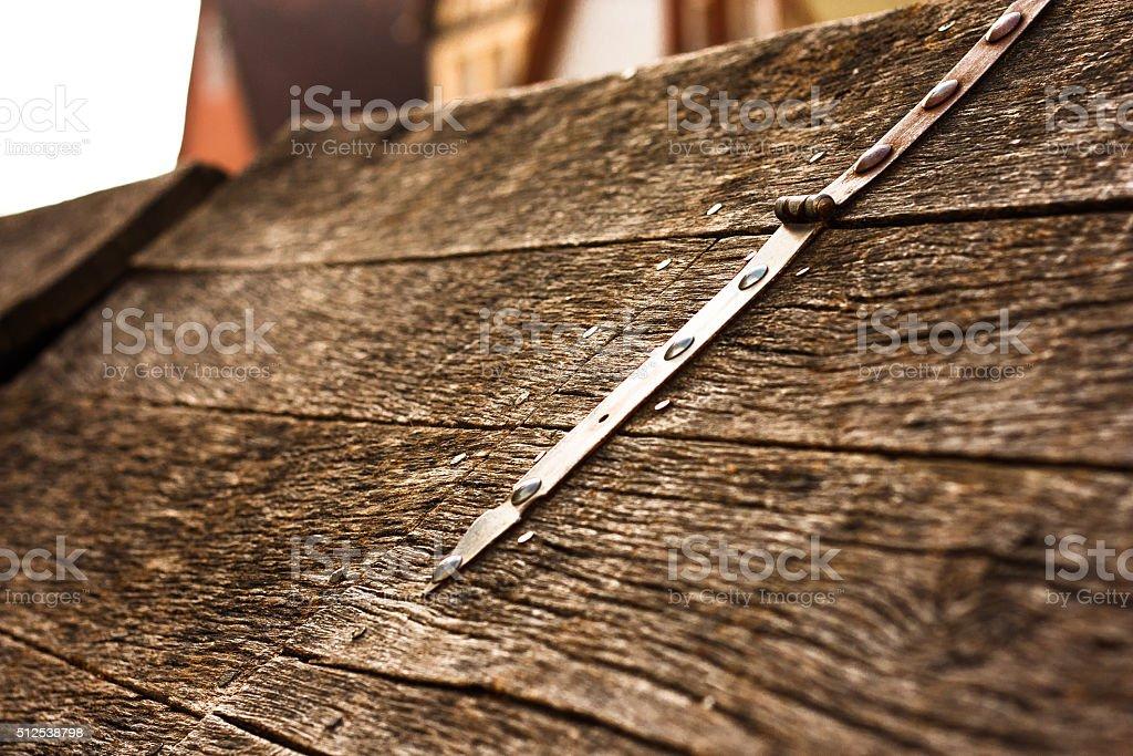 Trapdoor stock photo