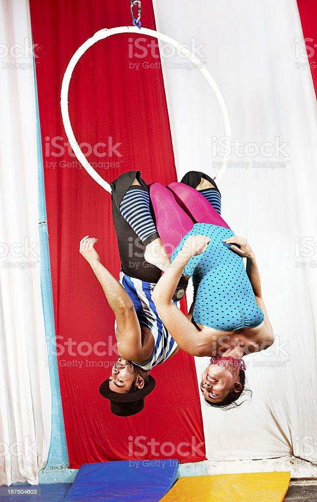 trapeze royalty-free stock photo