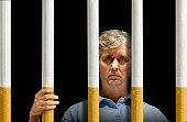 Trapped by cigarettes nicotine addiction prison