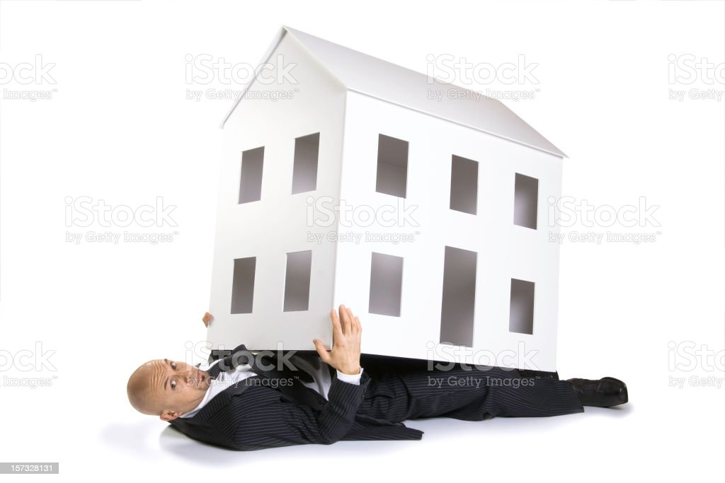 Trapped by Real Estate royalty-free stock photo
