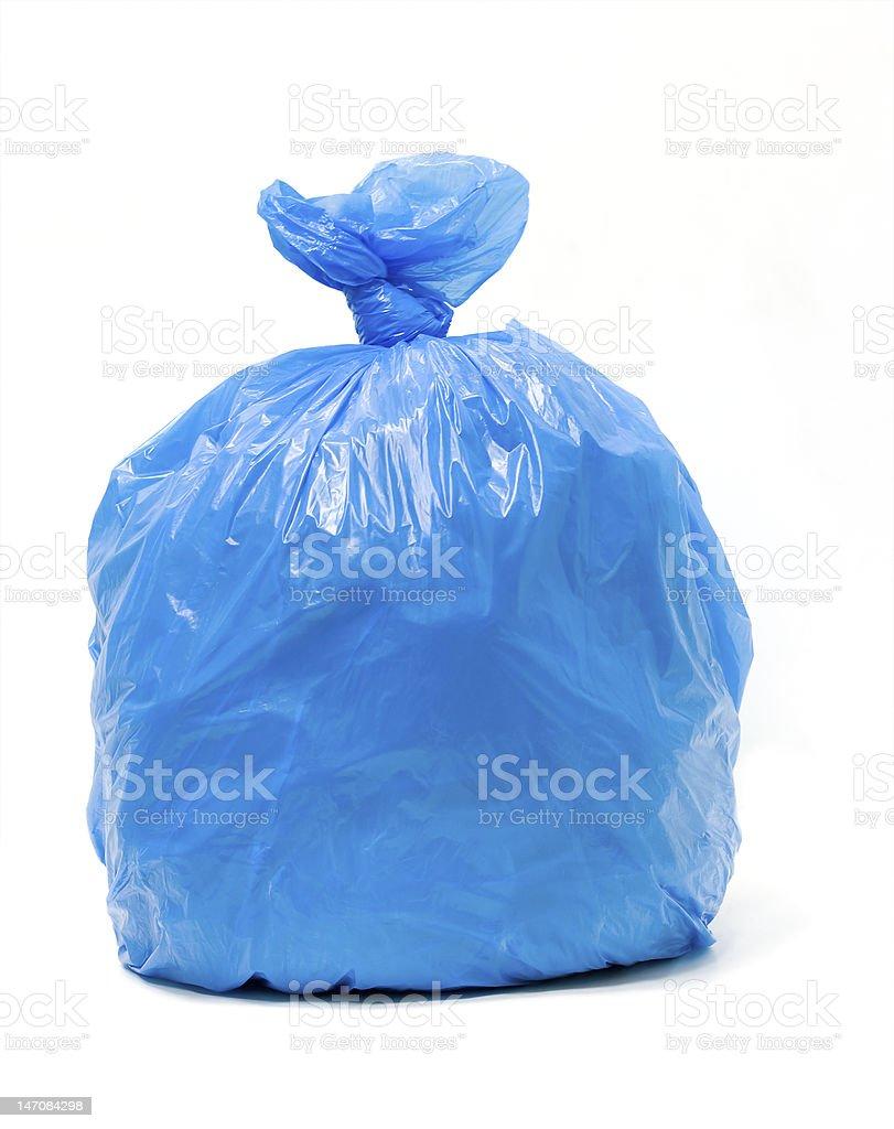 Trash bag royalty-free stock photo