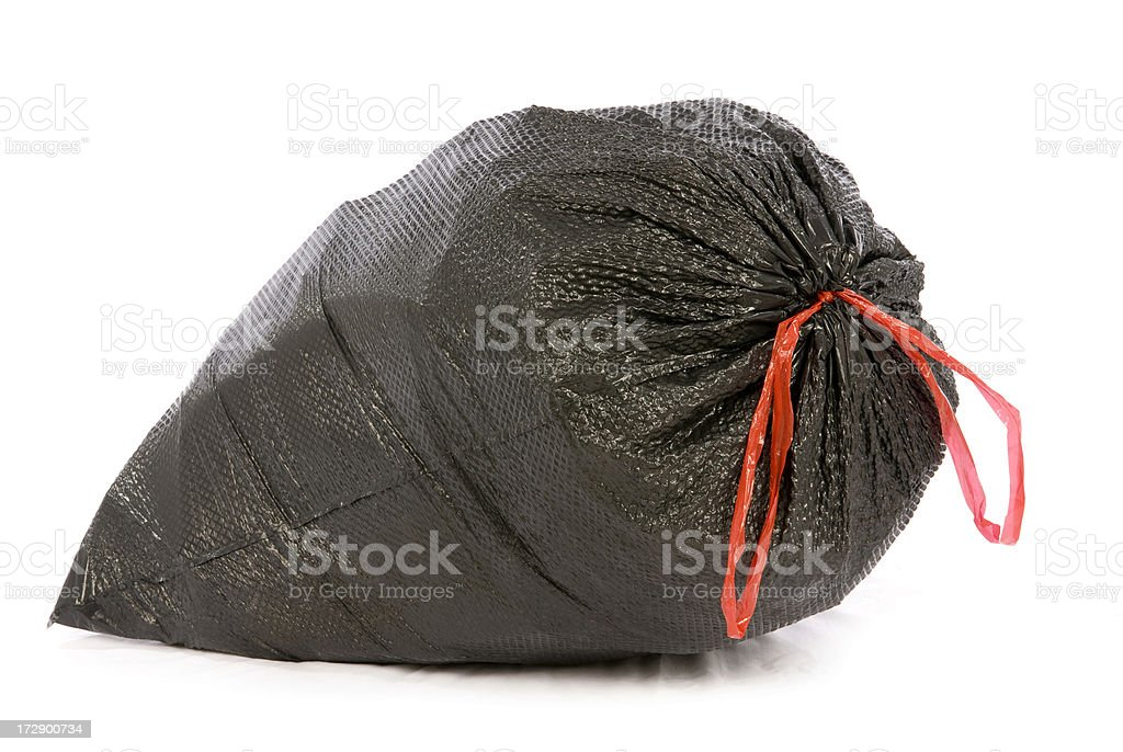 Trash Bag royalty-free stock photo