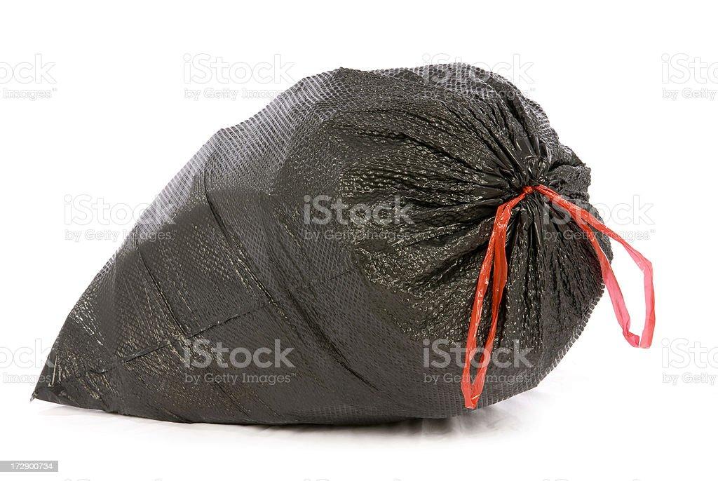 Trash Bag stock photo