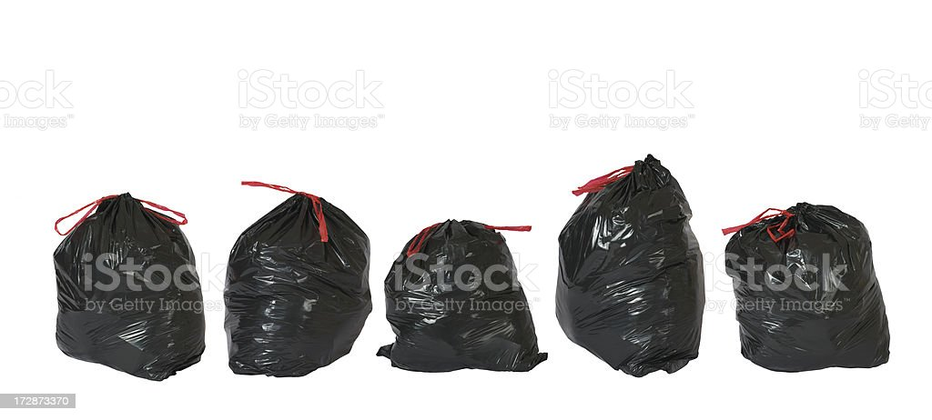 Trash Bags - XXL royalty-free stock photo