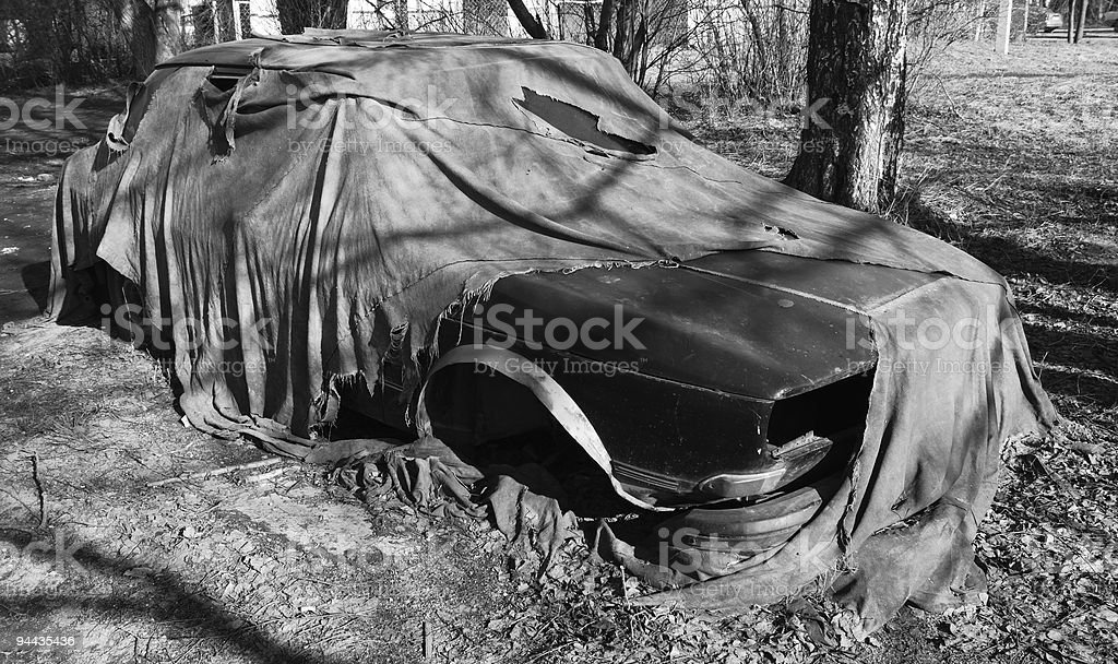 trash car royalty-free stock photo