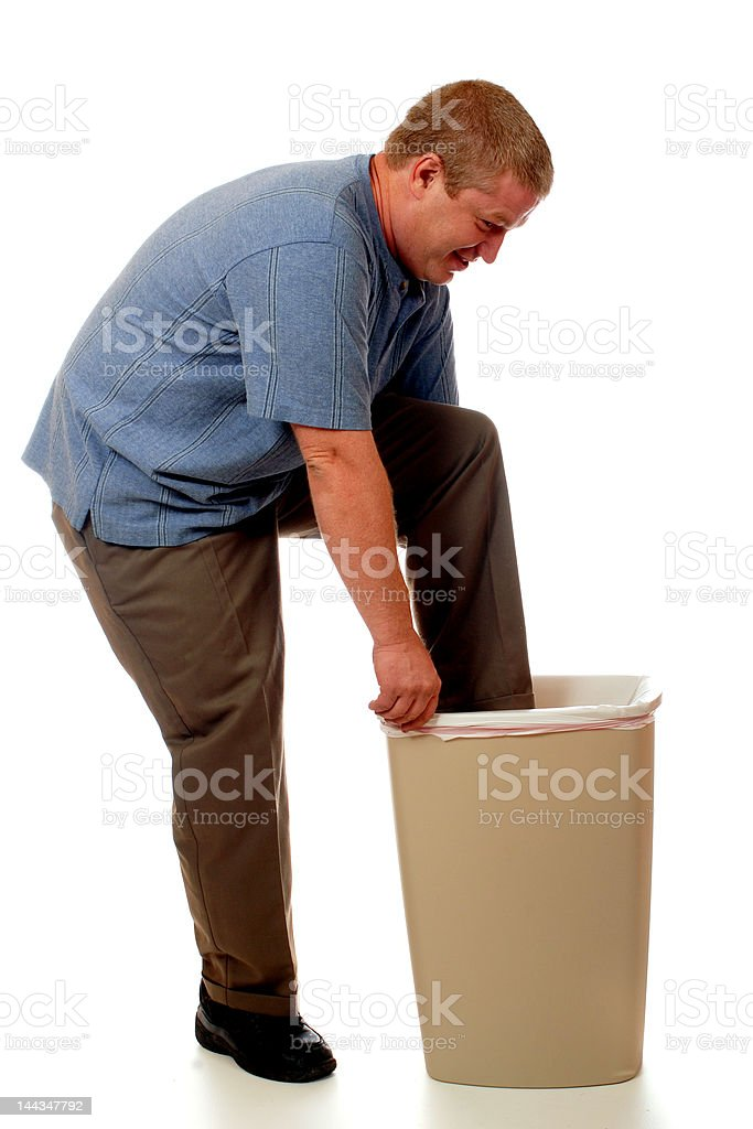 Trash Compactor royalty-free stock photo