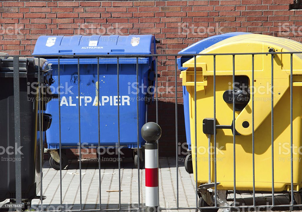 trash container royalty-free stock photo