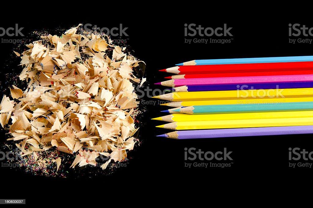 Trash Creativity royalty-free stock photo
