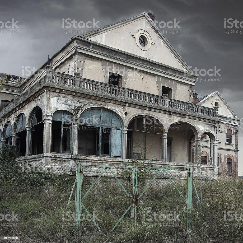 trash house royalty-free stock photo