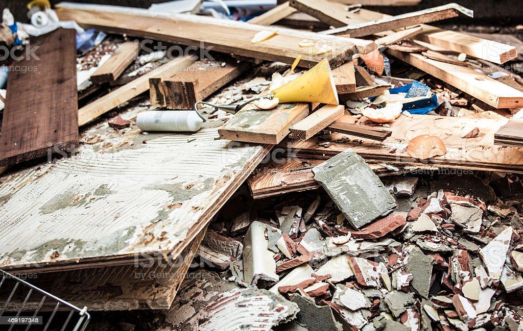 Trash stock photo