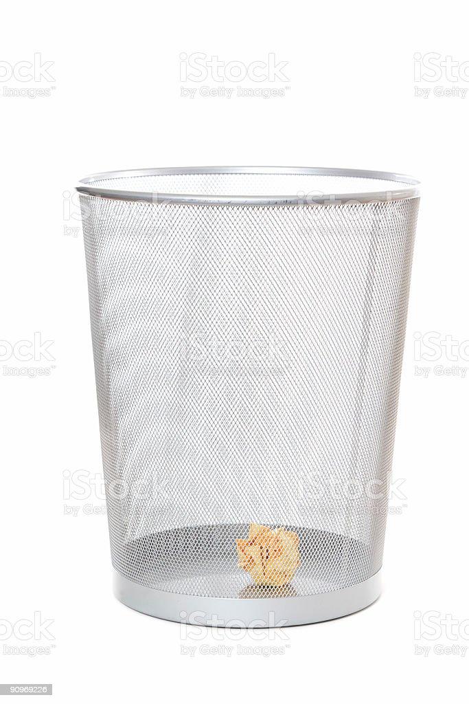 Trash royalty-free stock photo