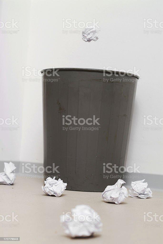 Trashbasket Series royalty-free stock photo