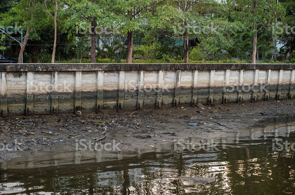Trashed stock photo