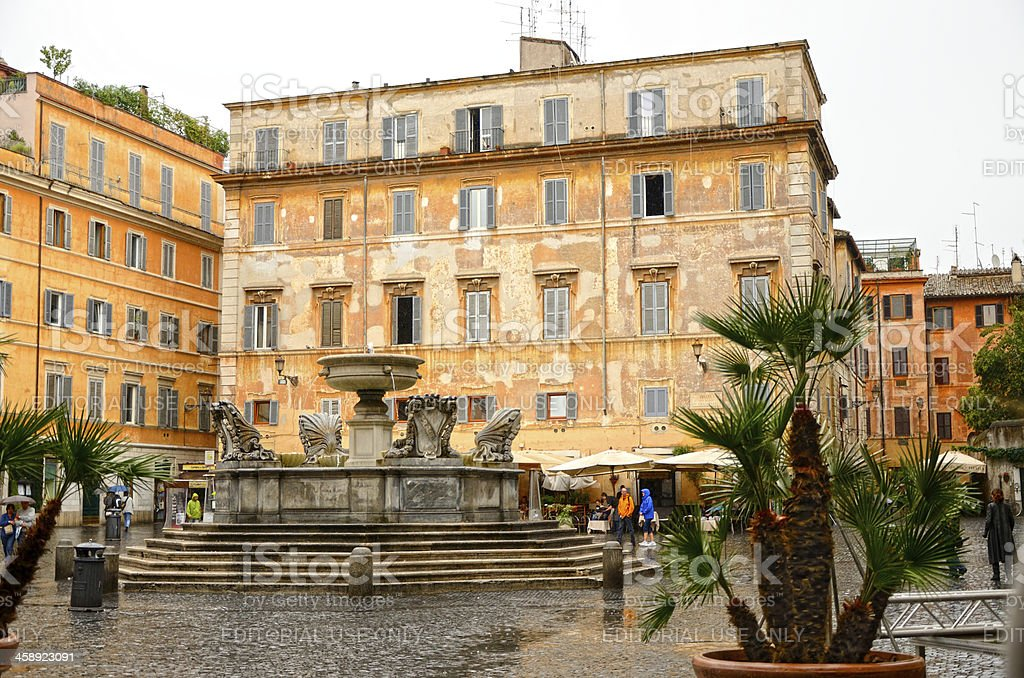 Trastevere royalty-free stock photo