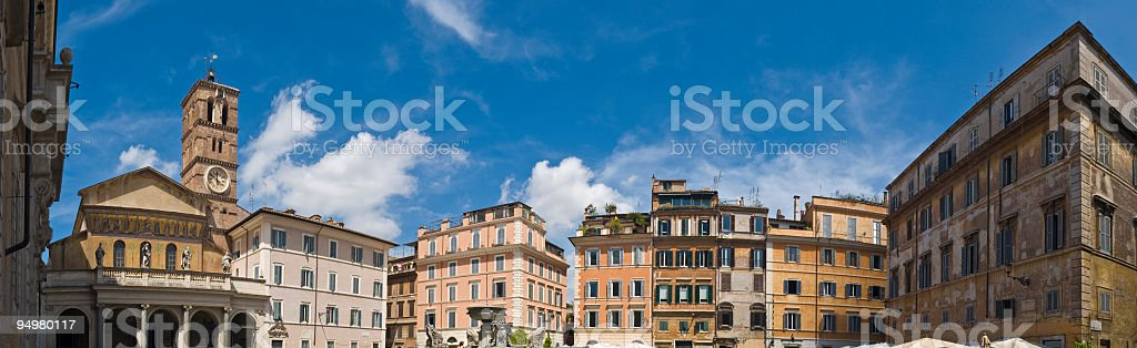 Trastevere Rome stock photo