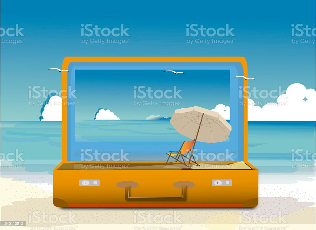travel  and explore Illustration stock photo