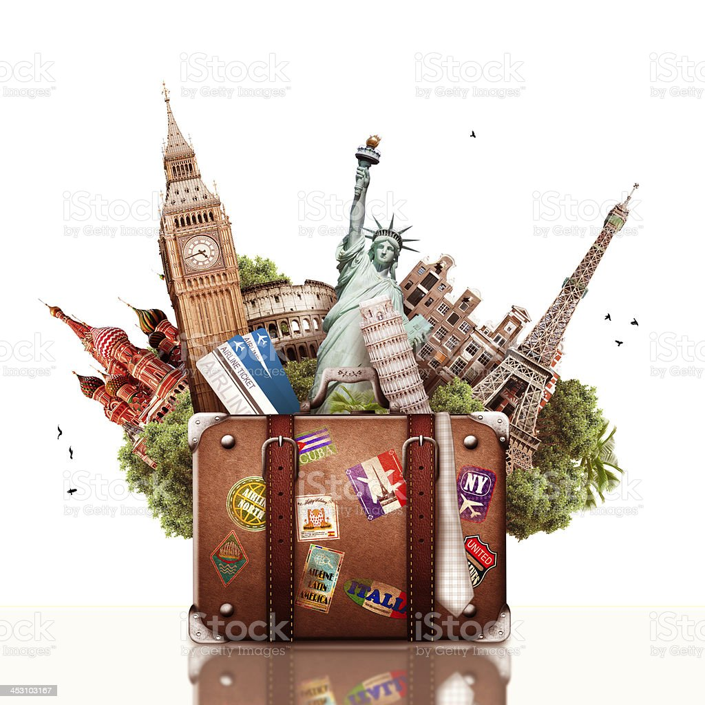 Travel and tourism stock photo