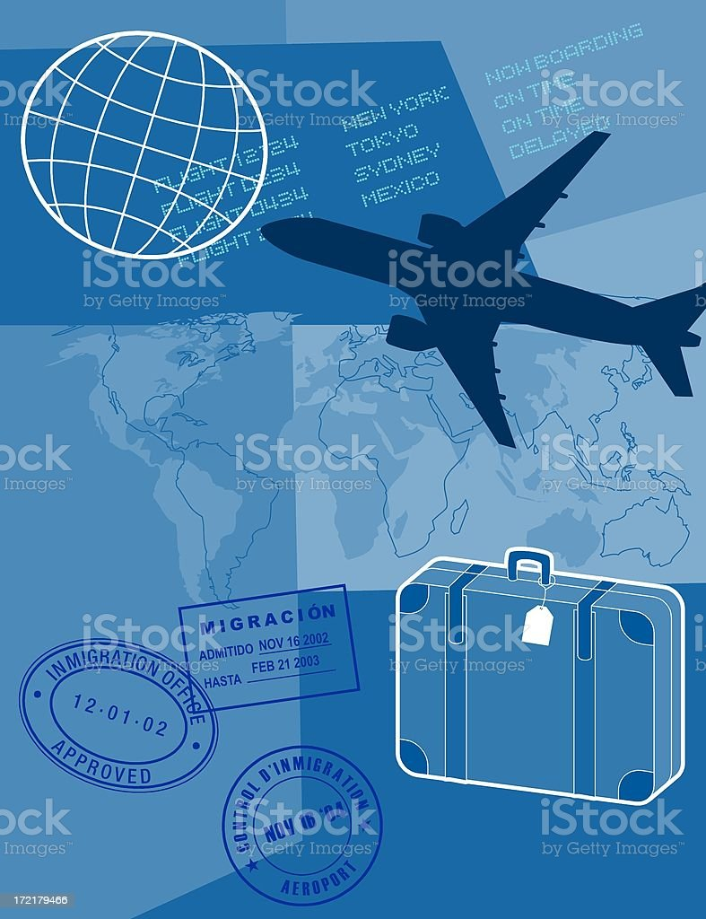 travel and transport (bitmap ) royalty-free stock photo