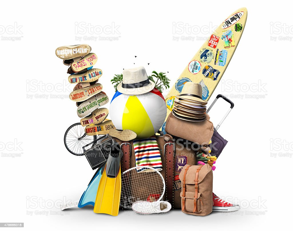 Travel and vacation stock photo