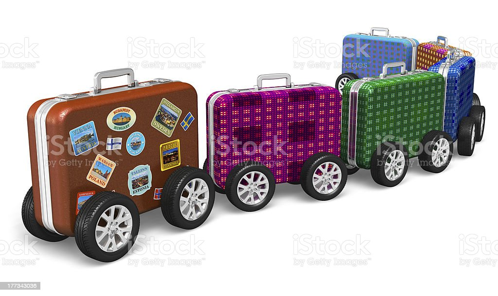 Travel around the world and tourism concept stock photo