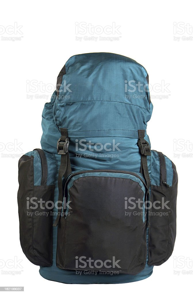 travel backpack royalty-free stock photo