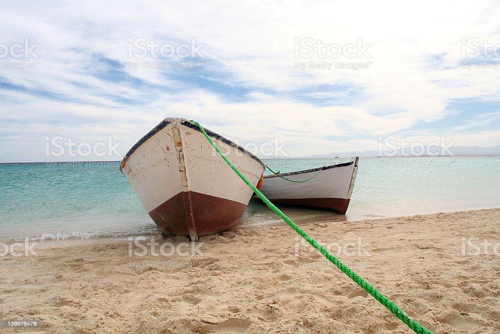 Travel boats royalty-free stock photo